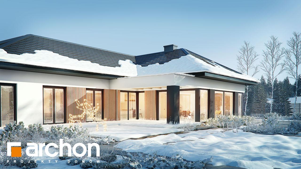Проект дома ARCHON+ Дом в галантусах (Г2) додаткова візуалізація