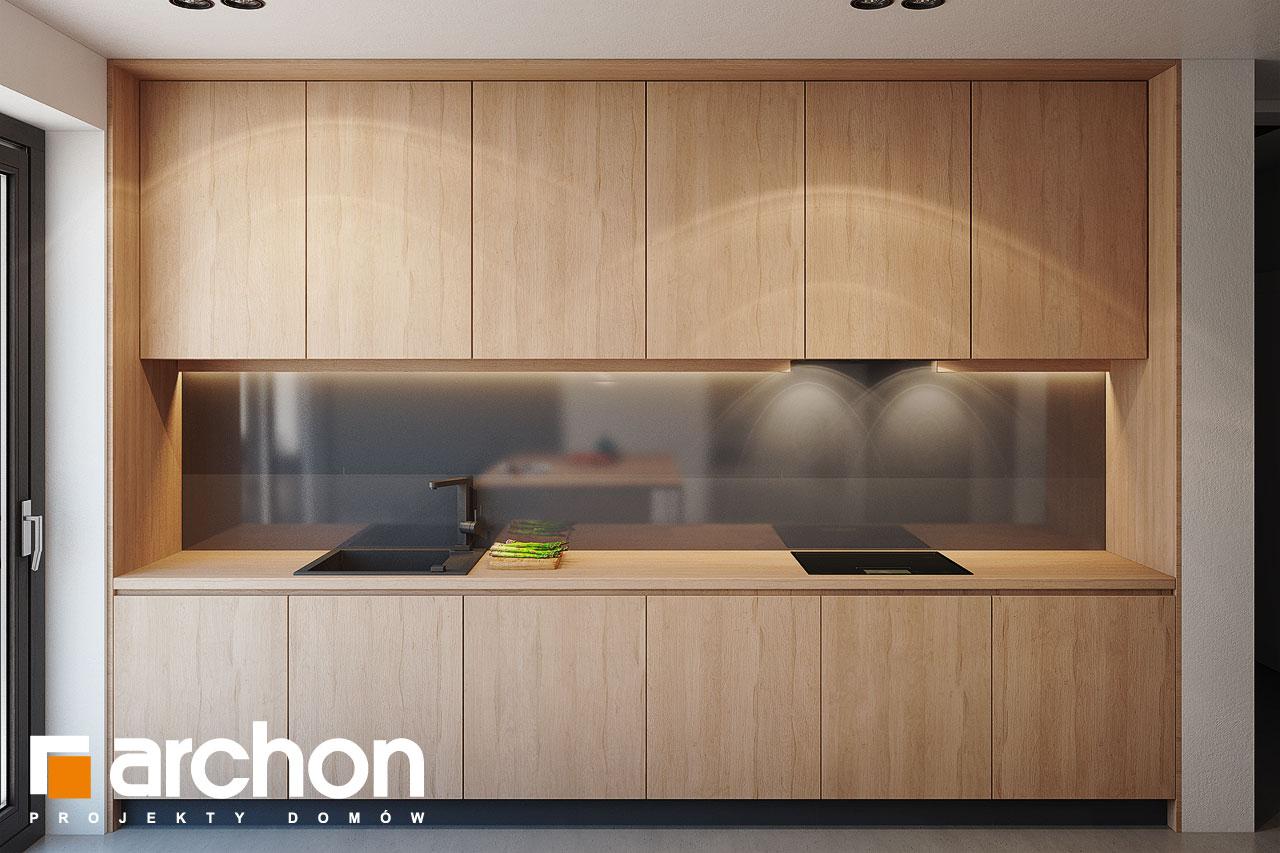 Проект дома ARCHON+ Дом в галантусах (Г2) визуализация кухни 1 вид 4