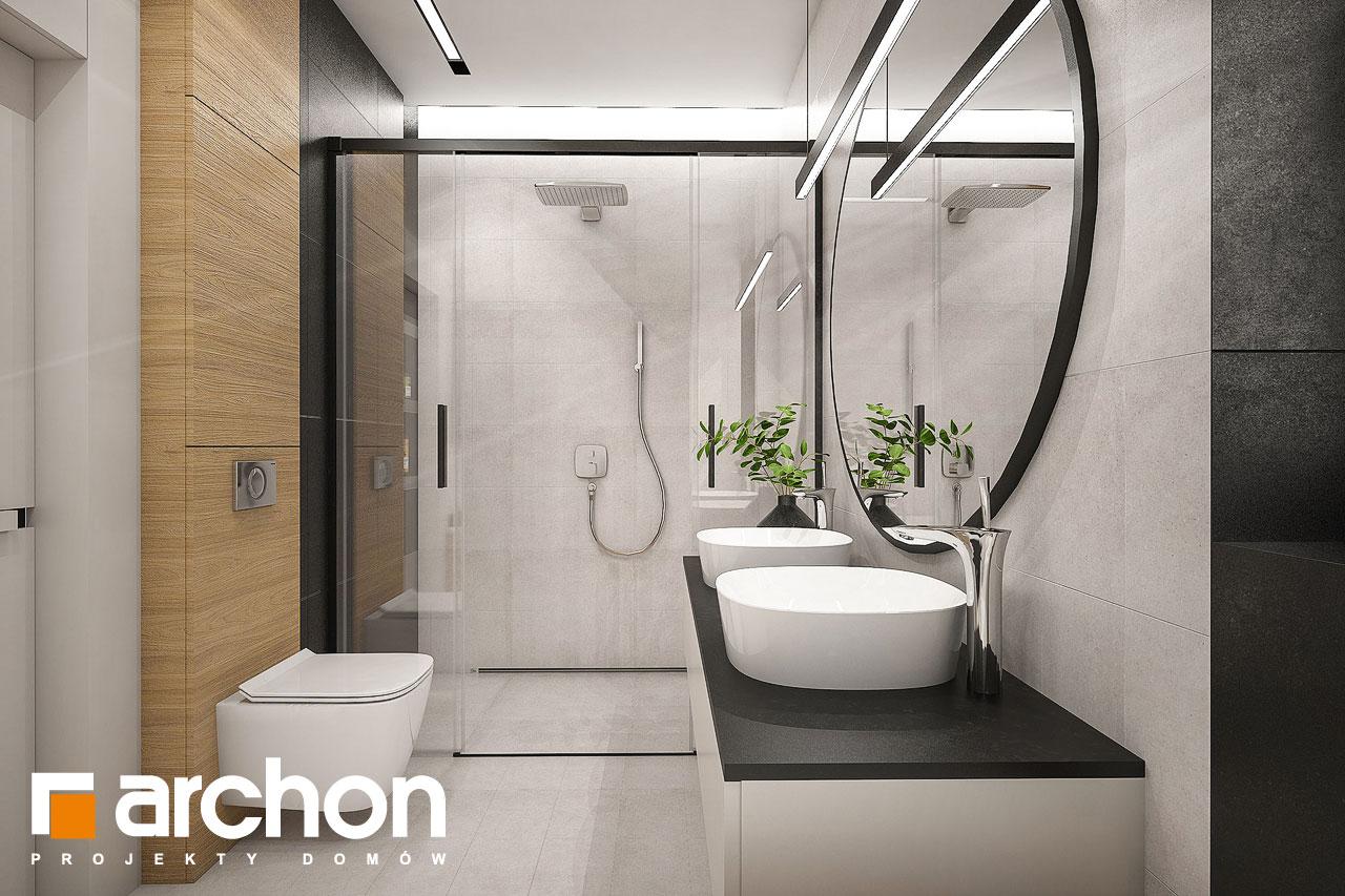Проект дома ARCHON+ Дом в галантусах (Г2) визуализация ванной (визуализация 3 вид 1)