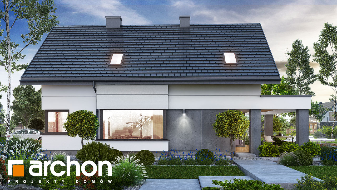Проект будинку ARCHON+ Будинок в рабатках (Г2) додаткова візуалізація