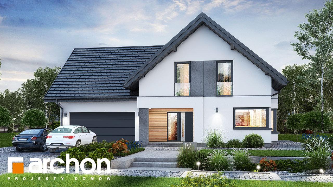 Проект будинку ARCHON+ Будинок в рабатках (Г2)