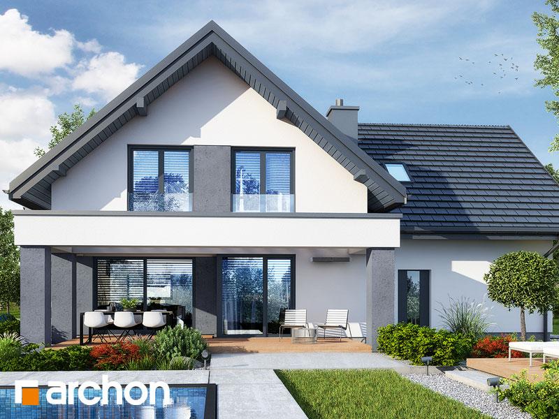 Проект будинку ARCHON+ Будинок в рабатках (Г2) Вид 2
