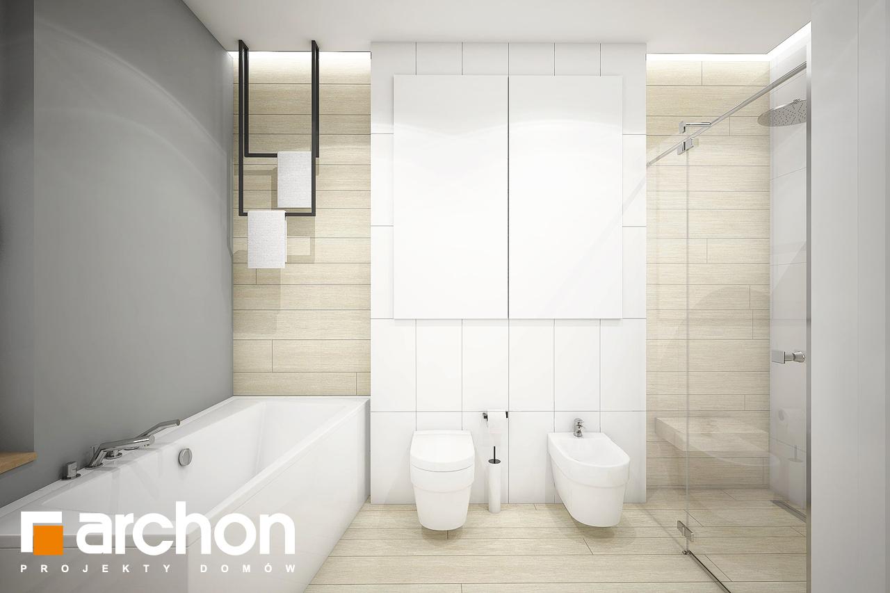 Проект будинку ARCHON+ Будинок в андромедах 3 (Г2) візуалізація ванни (візуалізація 3 від 2)
