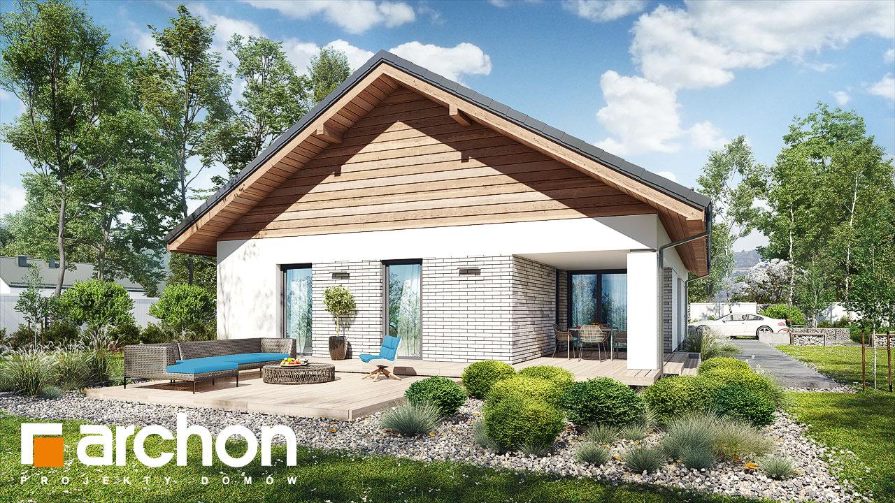 Проект будинку ARCHON+ Будинок в андромедах 3 (Г2) Вид 2
