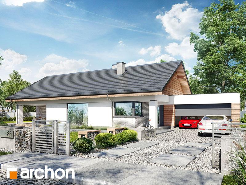 Проект дома ARCHON+ Дом в андромедах 3 (Г2) Вид 1