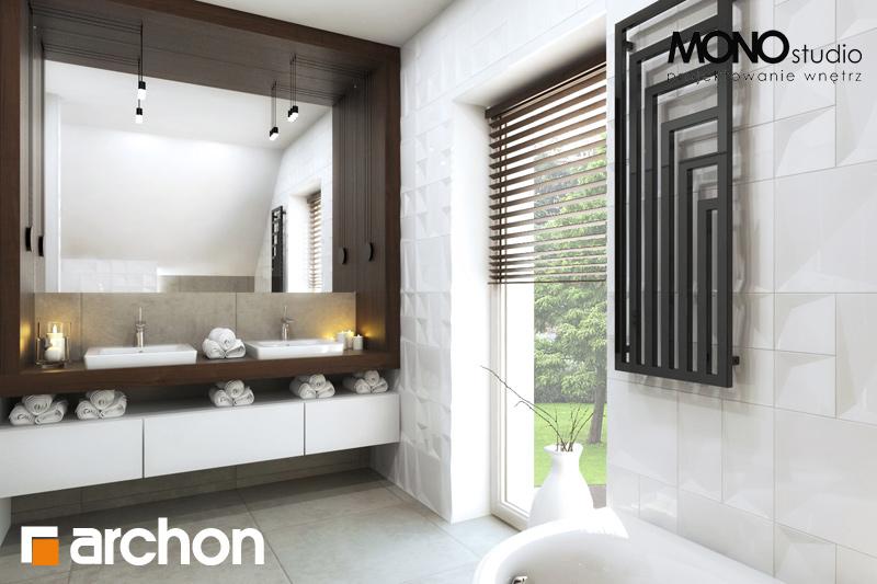 Проект будинку ARCHON+ Будинок в аурорах 2 візуалізація ванни (візуалізація 1 від 1)