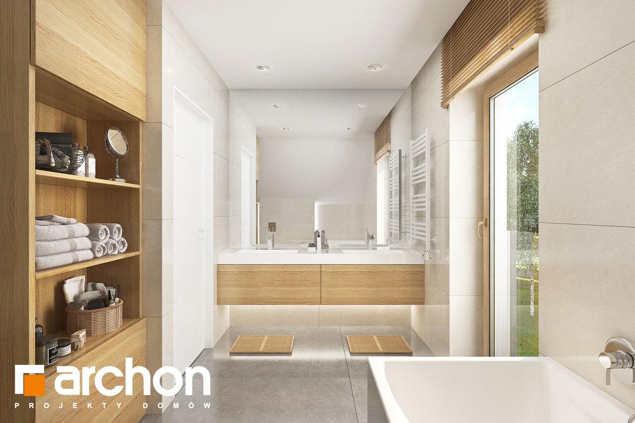 Проект будинку ARCHON+ Будинок в аурорах 2 візуалізація ванни (візуалізація 3 від 1)
