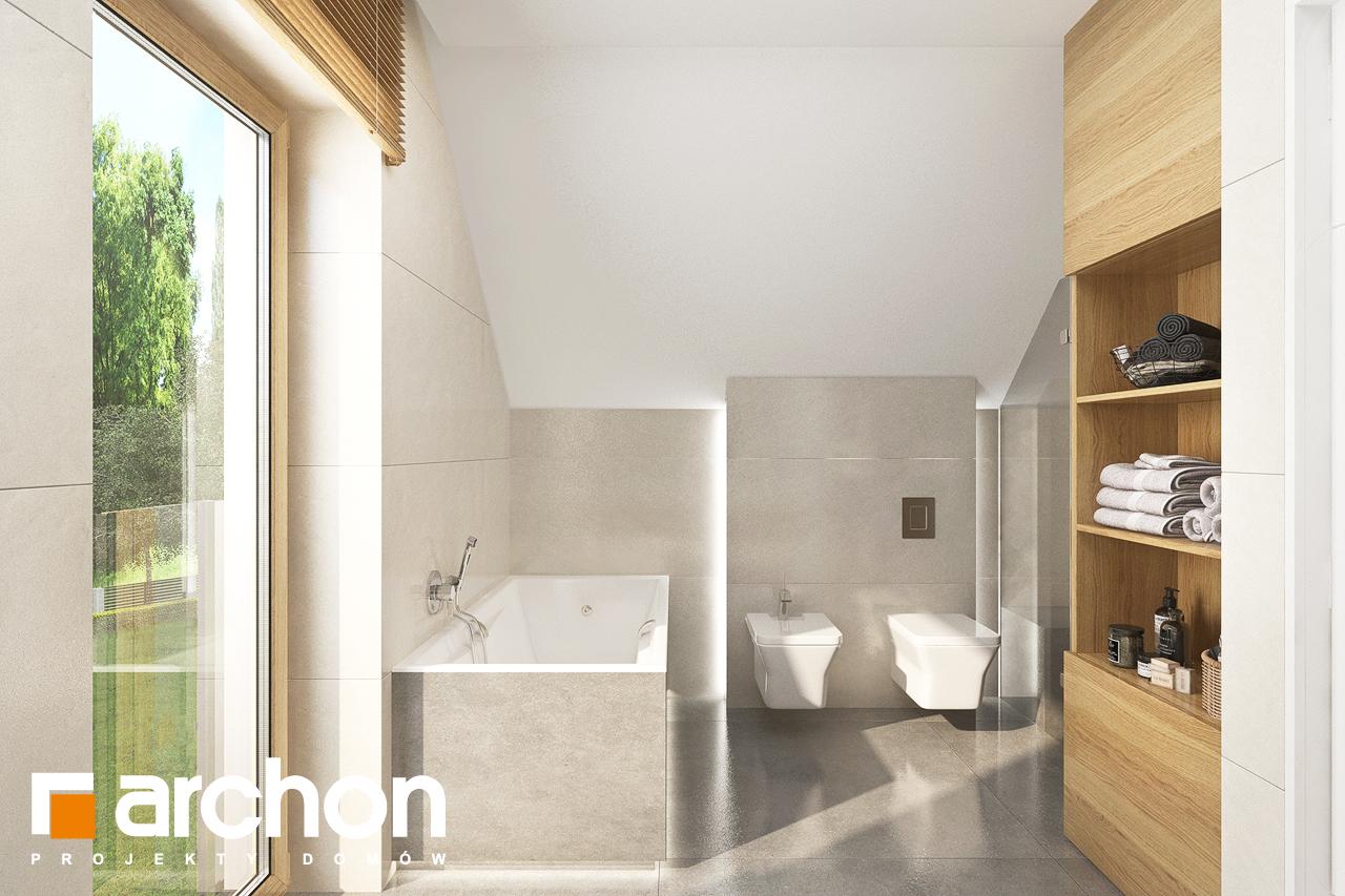 Проект будинку ARCHON+ Будинок в аурорах 2 візуалізація ванни (візуалізація 3 від 3)