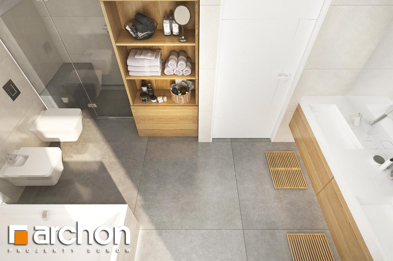Проект будинку ARCHON+ Будинок в аурорах 2 візуалізація ванни (візуалізація 3 від 4)
