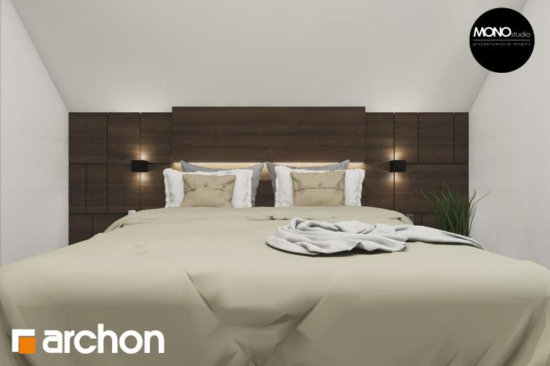 Проект будинку ARCHON+ Будинок в аурорах 2 нічна зона (візуалізація 1 від 1)