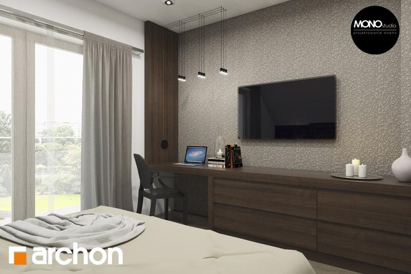 Проект будинку ARCHON+ Будинок в аурорах 2 нічна зона (візуалізація 1 від 2)