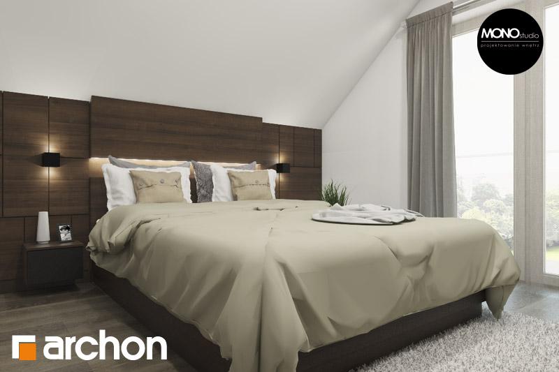 Проект будинку ARCHON+ Будинок в аурорах 2 нічна зона (візуалізація 1 від 3)