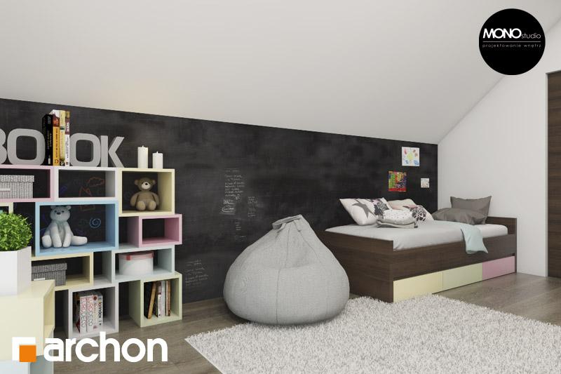 Проект будинку ARCHON+ Будинок в аурорах 2 нічна зона (візуалізація 2 від 1)