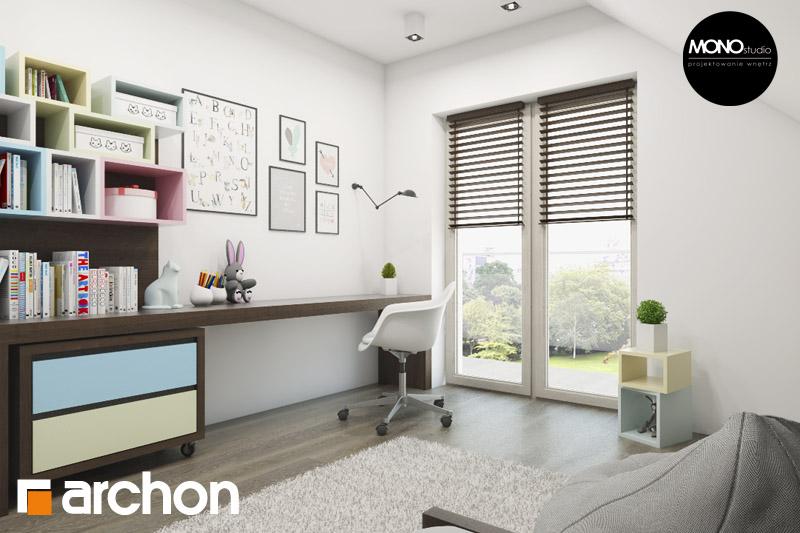 Проект будинку ARCHON+ Будинок в аурорах 2 нічна зона (візуалізація 2 від 2)