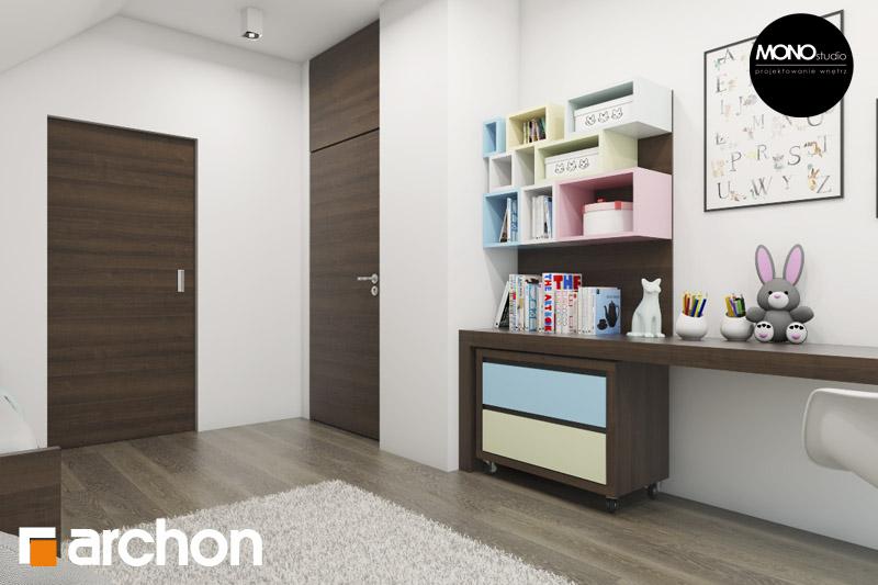 Проект будинку ARCHON+ Будинок в аурорах 2 нічна зона (візуалізація 2 від 3)