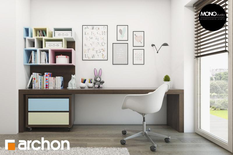 Проект будинку ARCHON+ Будинок в аурорах 2 нічна зона (візуалізація 2 від 5)
