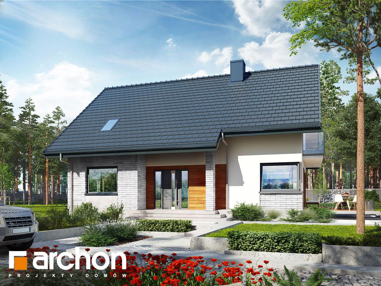 Проект будинку ARCHON+ Будинок в аурорах 2 Вид 2