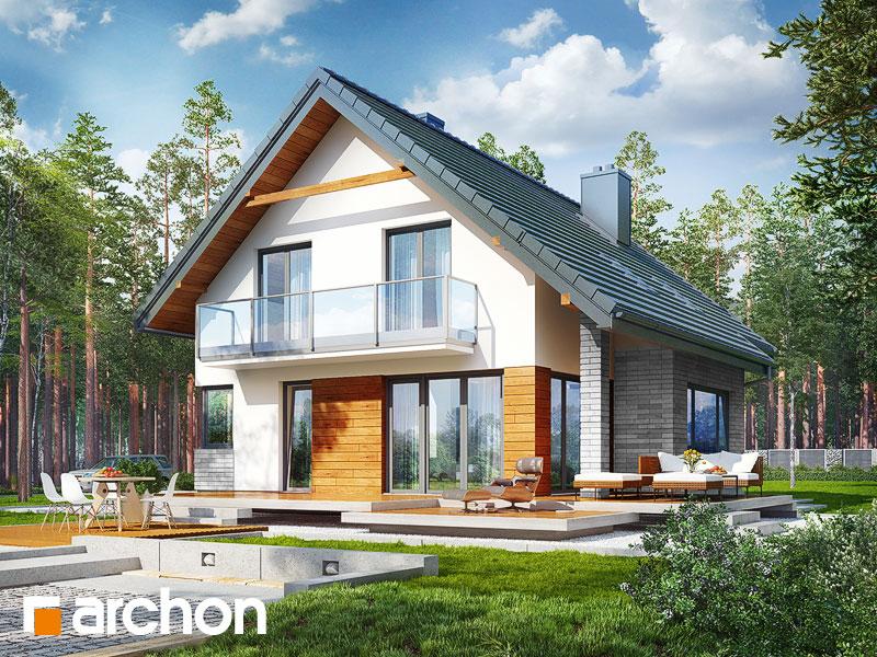 Проект будинку ARCHON+ Будинок в аурорах 2 Вид 1