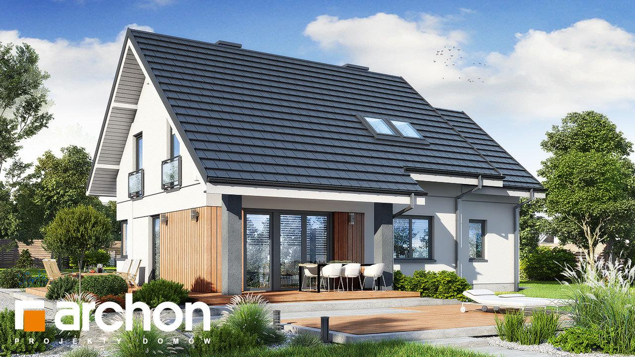 Проект будинку ARCHON+ Будинок в малинівці 2 (Г)