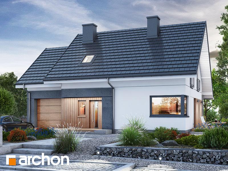 Проект будинку ARCHON+ Будинок в малинівці 2 (Г) Вид 1