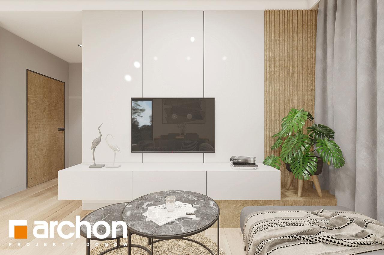 Проект будинку ARCHON+ Будинок в малинівці 2 (Г) денна зона (візуалізація 1 від 7)