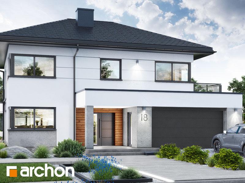 Проект будинку ARCHON+ Вілла Міранда 16 (Г2) Вид 1