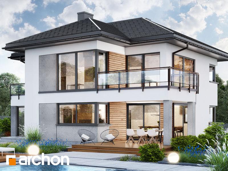Проект будинку ARCHON+ Вілла Міранда 16 (Г2) Вид 2