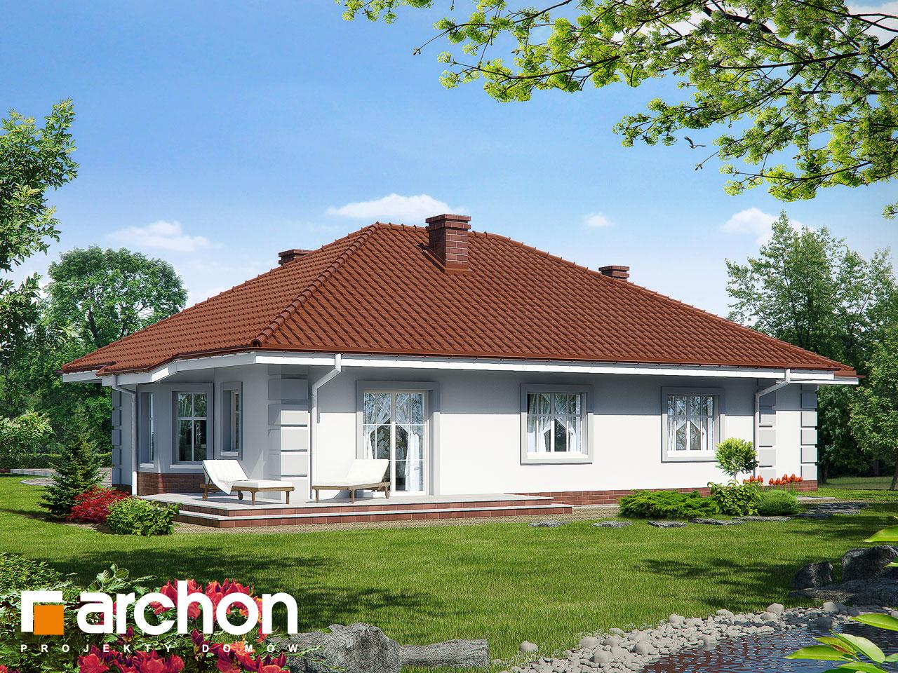 Проект будинку ARCHON+ Будинок під червоною горобиною (Г) вер.3 Вид 2
