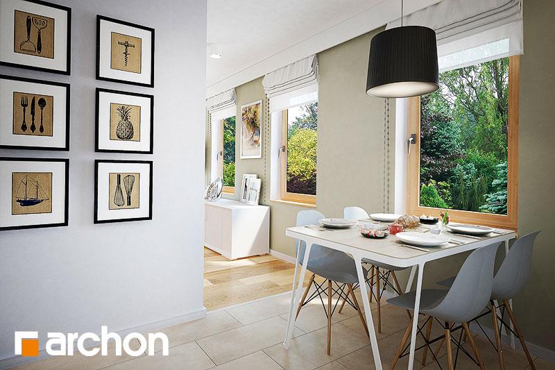 Проект будинку ARCHON+ Будинок в суниці 4 вер.2 візуалізація кухні 1 від 2