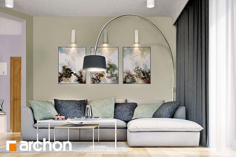 Проект будинку ARCHON+ Будинок в суниці 4 вер.2 денна зона (візуалізація 1 від 3)