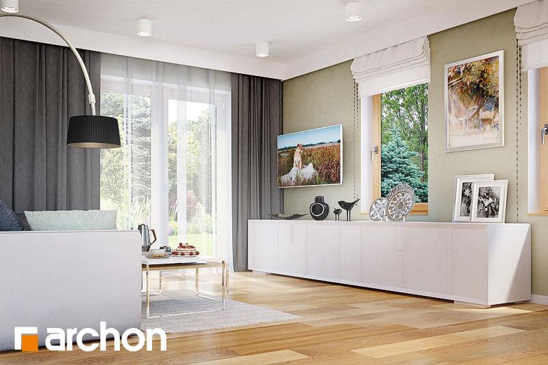 Проект будинку ARCHON+ Будинок в суниці 4 денна зона (візуалізація 1 від 2)