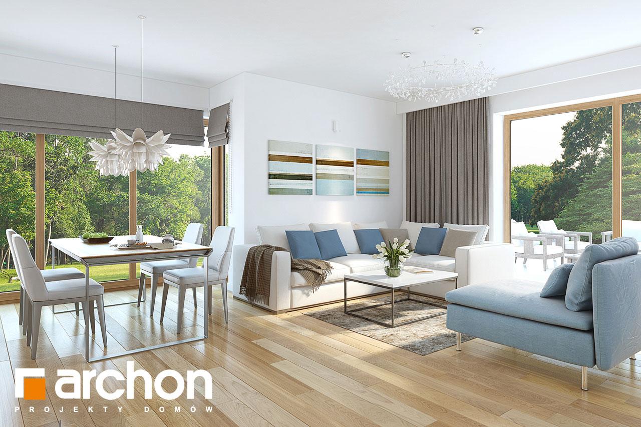 Проект будинку ARCHON+ Будинок в нектаринах (H) денна зона (візуалізація 1 від 1)