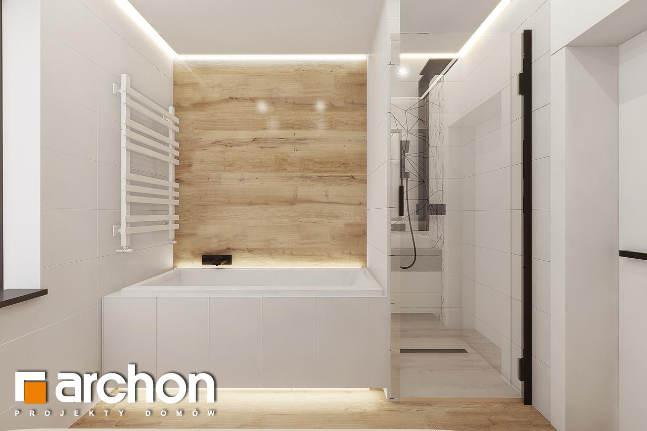 Проект будинку ARCHON+ Будинок в сурфініях 2 візуалізація ванни (візуалізація 3 від 2)
