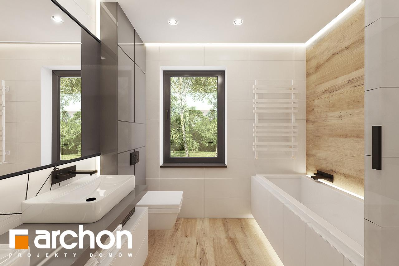 Проект будинку ARCHON+ Будинок в сурфініях 2 візуалізація ванни (візуалізація 3 від 3)