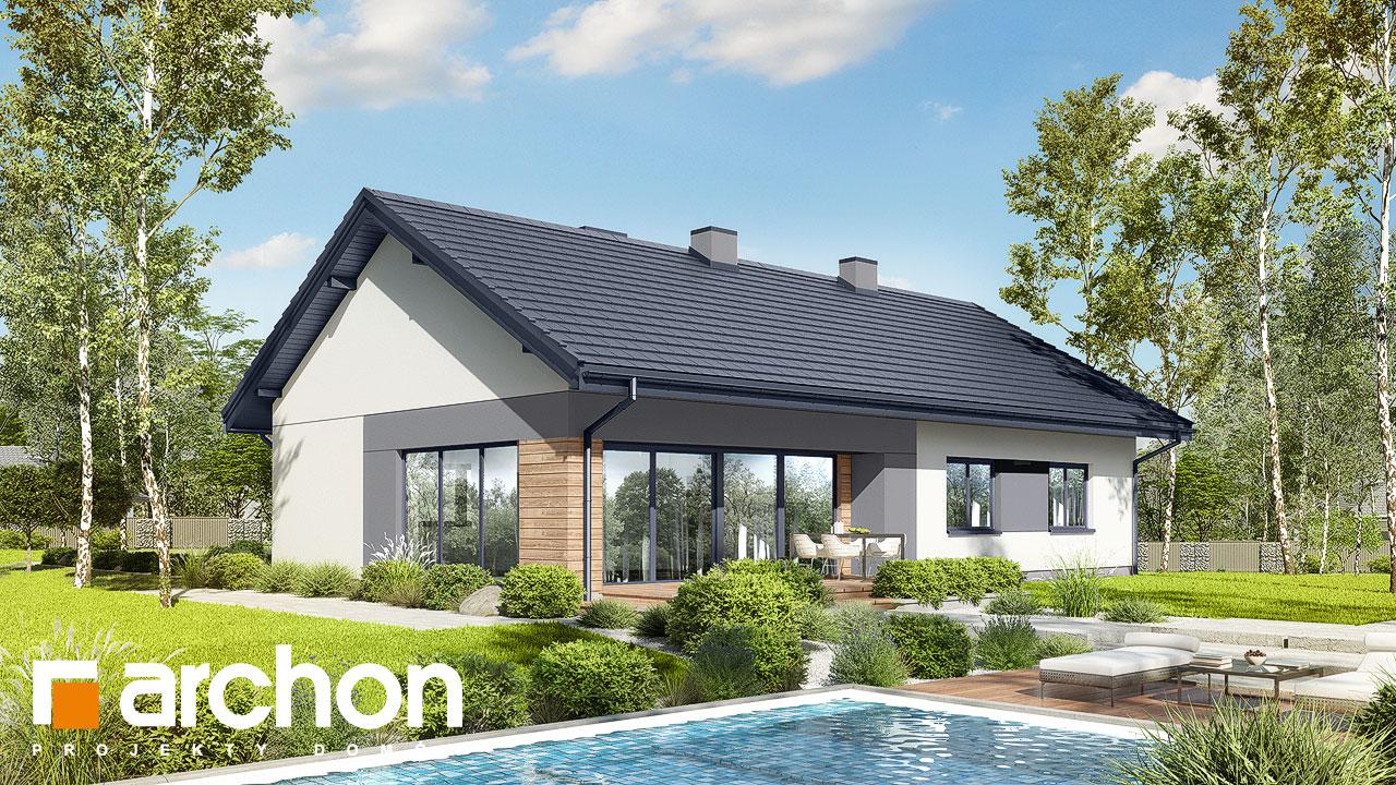 Проект будинку ARCHON+ Будинок в сурфініях 2 Вид 2