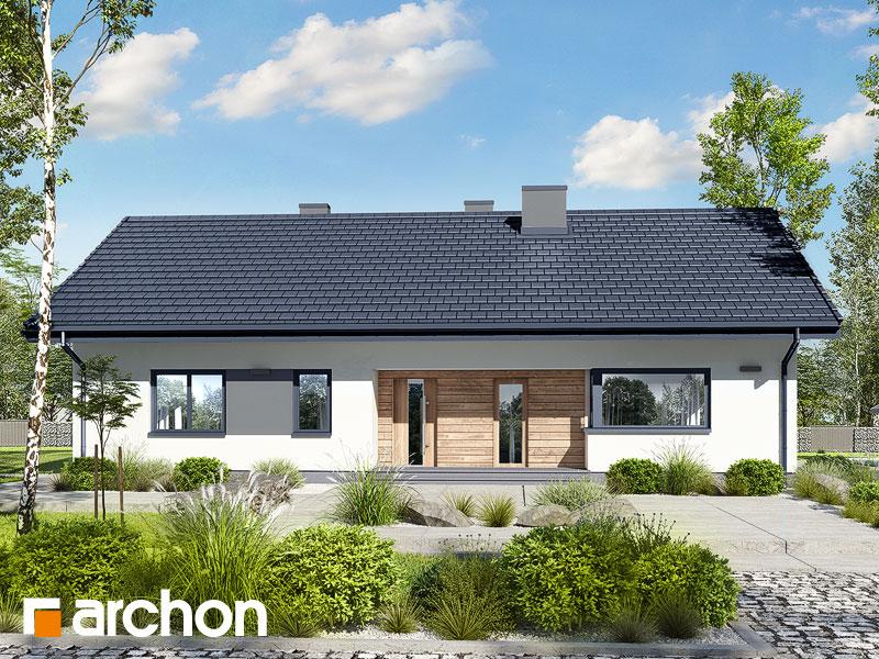 Проект дома ARCHON+ Дом в сурфиниях 2 Вид 1