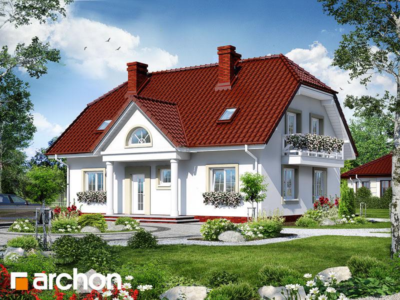 Проект будинку ARCHON+ Будинок в гладіолусах 2 вер.2 Вид 1