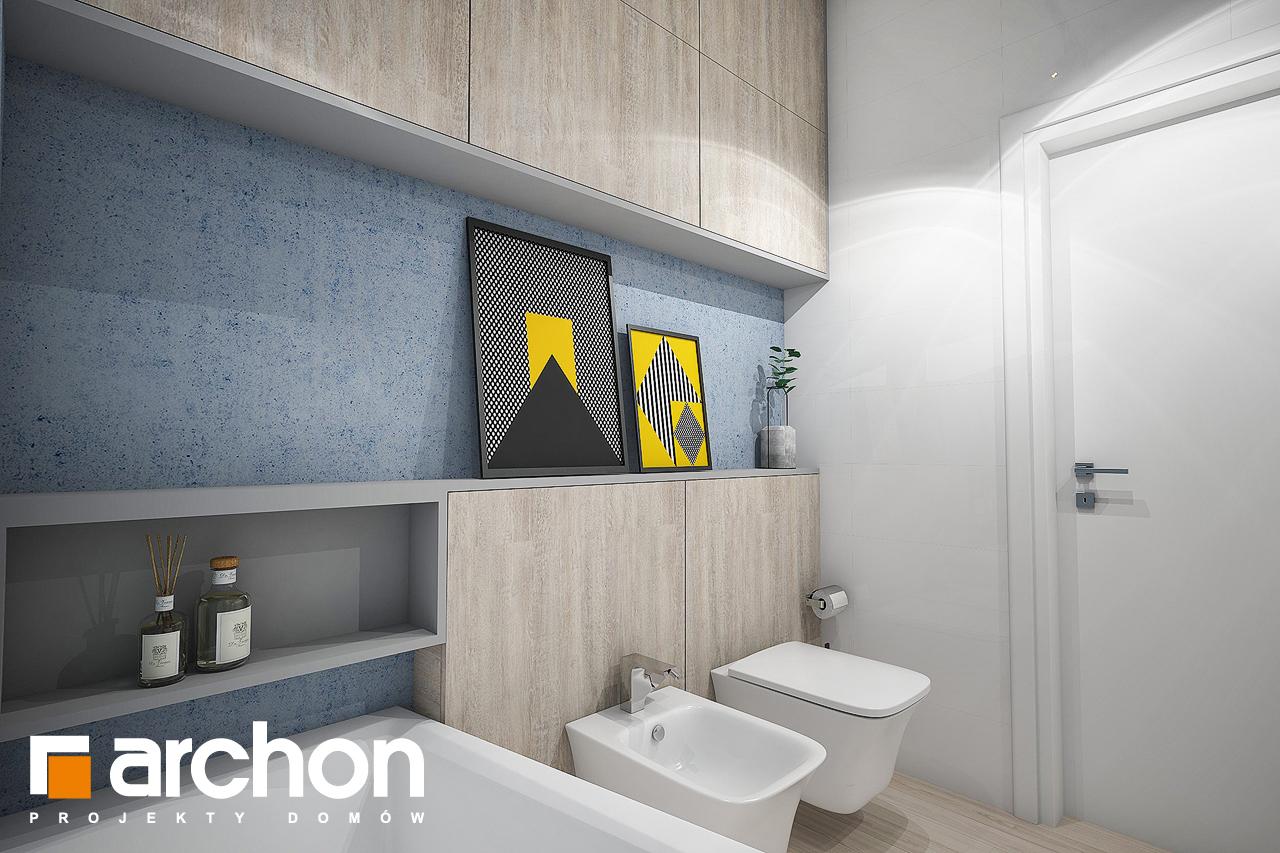 Проект будинку ARCHON+ Будинок в навлоціях (Г2) візуалізація ванни (візуалізація 3 від 2)