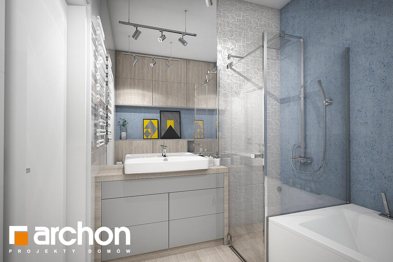 Проект дома ARCHON+ Дом в навлоциях (Г2) визуализация ванной (визуализация 3 вид 1)