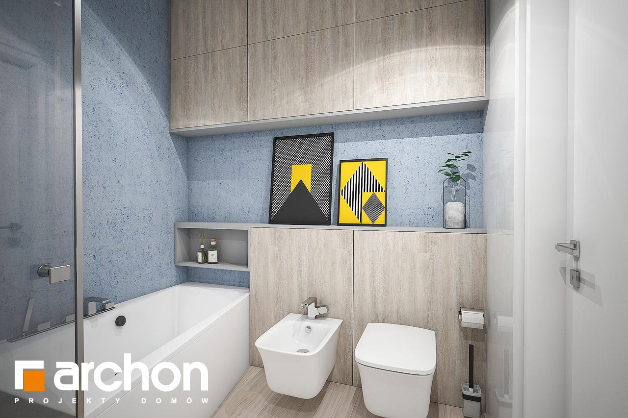 Проект дома ARCHON+ Дом в навлоциях (Г2) визуализация ванной (визуализация 3 вид 3)