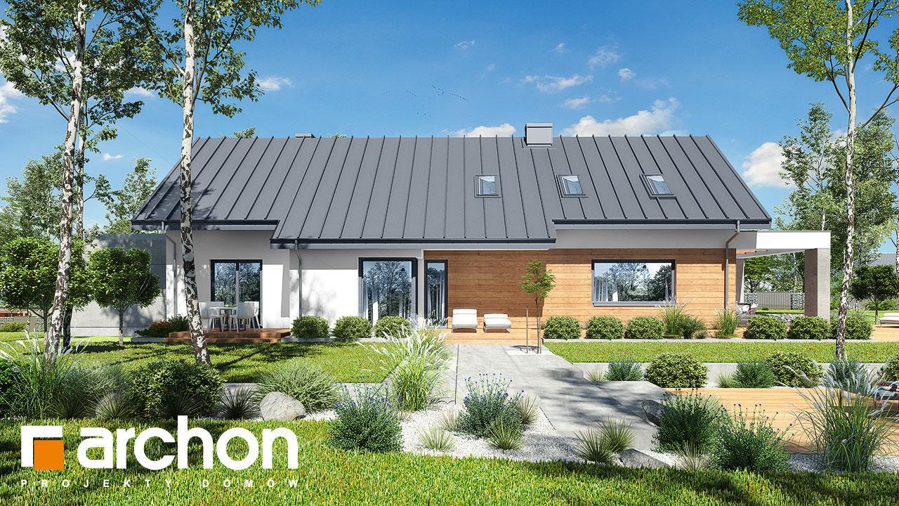 Проект дома ARCHON+ Дом в пеперомиях 3 додаткова візуалізація