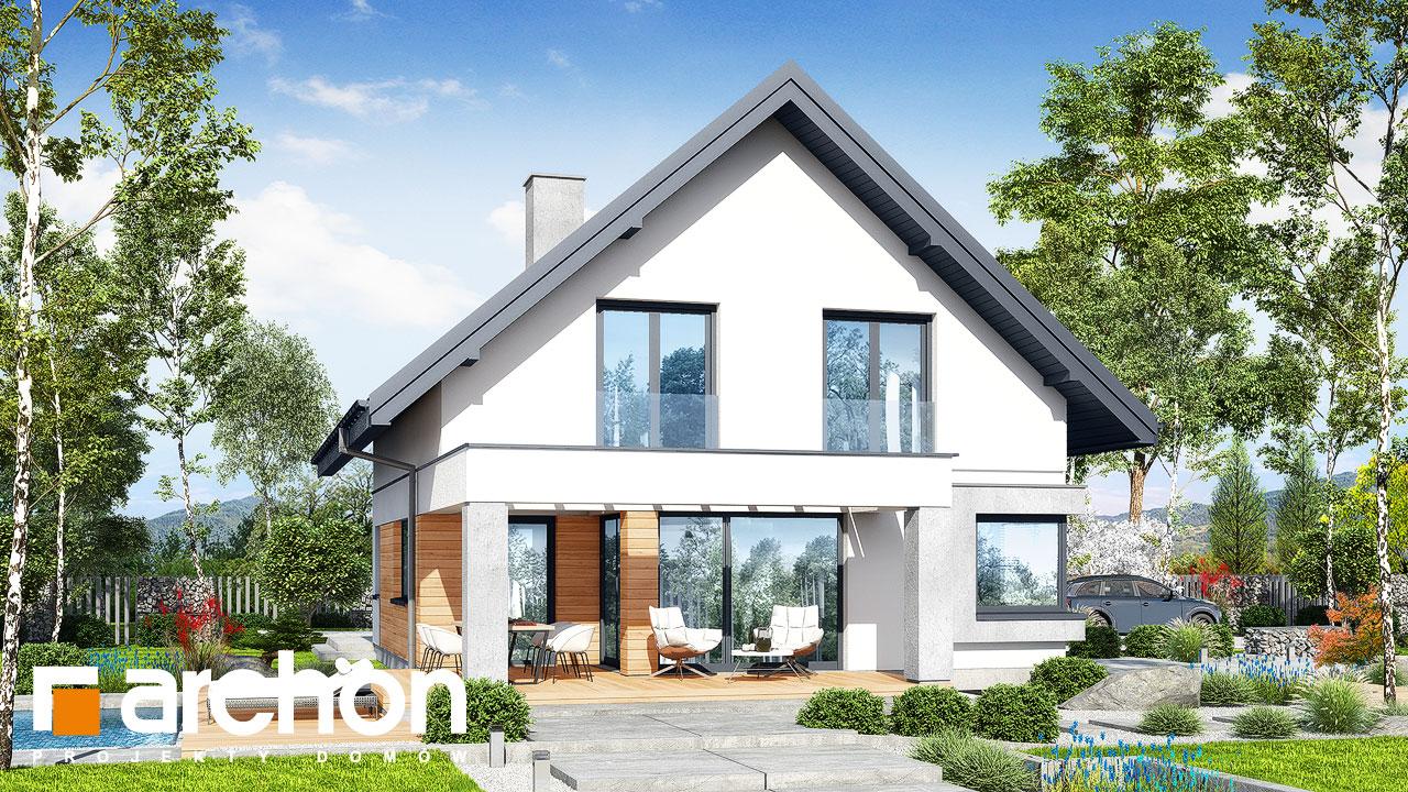 Проект дома ARCHON+ Дом в изопируме 7 (Г2) Вид 2