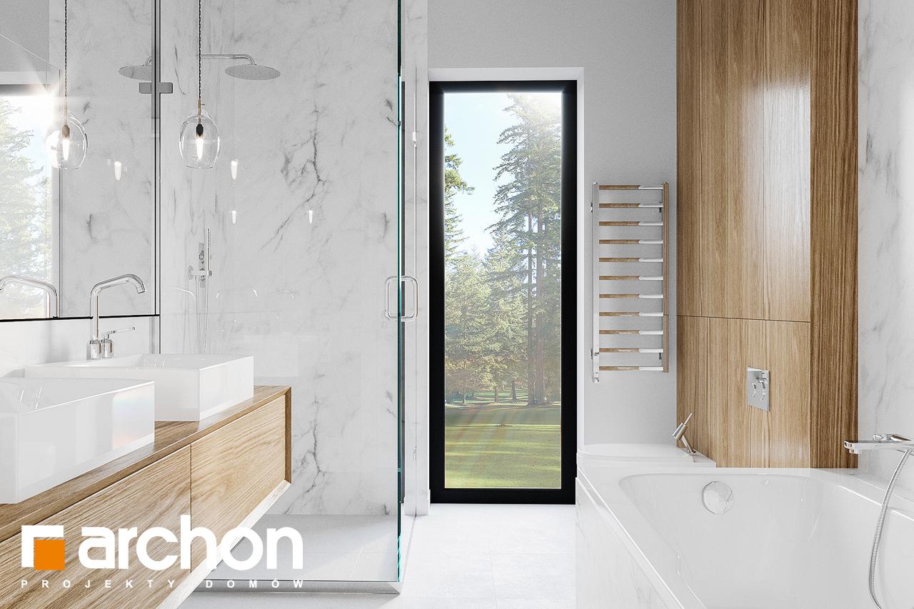 Проект будинку ARCHON+ Будинок в базиліці 2 візуалізація ванни (візуалізація 3 від 1)