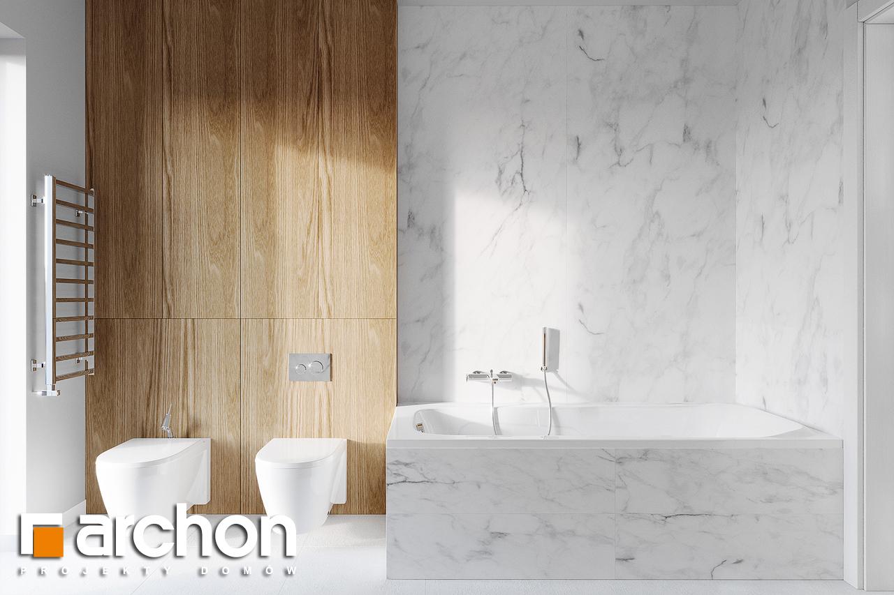 Проект будинку ARCHON+ Будинок в базиліці 2 візуалізація ванни (візуалізація 3 від 3)