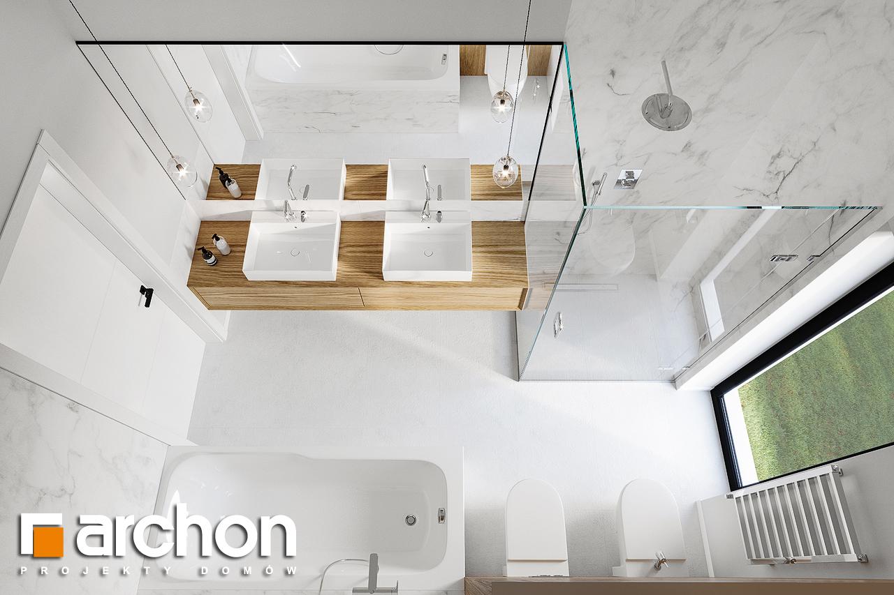 Проект будинку ARCHON+ Будинок в базиліці 2 візуалізація ванни (візуалізація 3 від 4)
