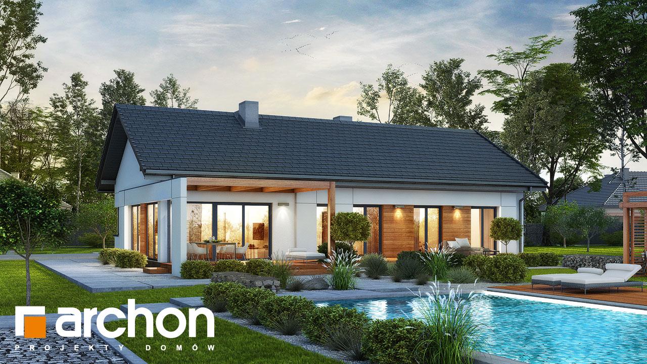 Проект будинку ARCHON+ Будинок в базиліці 2 Вид 2