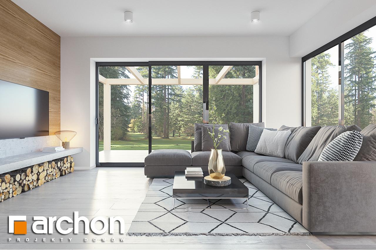 Проект будинку ARCHON+ Будинок в базиліці 2 денна зона (візуалізація 1 від 1)