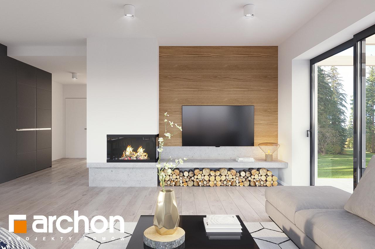 Проект будинку ARCHON+ Будинок в базиліці 2 денна зона (візуалізація 1 від 2)