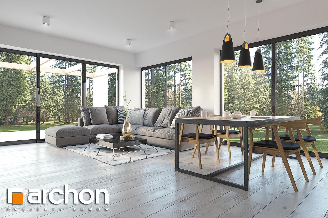 Проект будинку ARCHON+ Будинок в базиліці 2 денна зона (візуалізація 1 від 3)