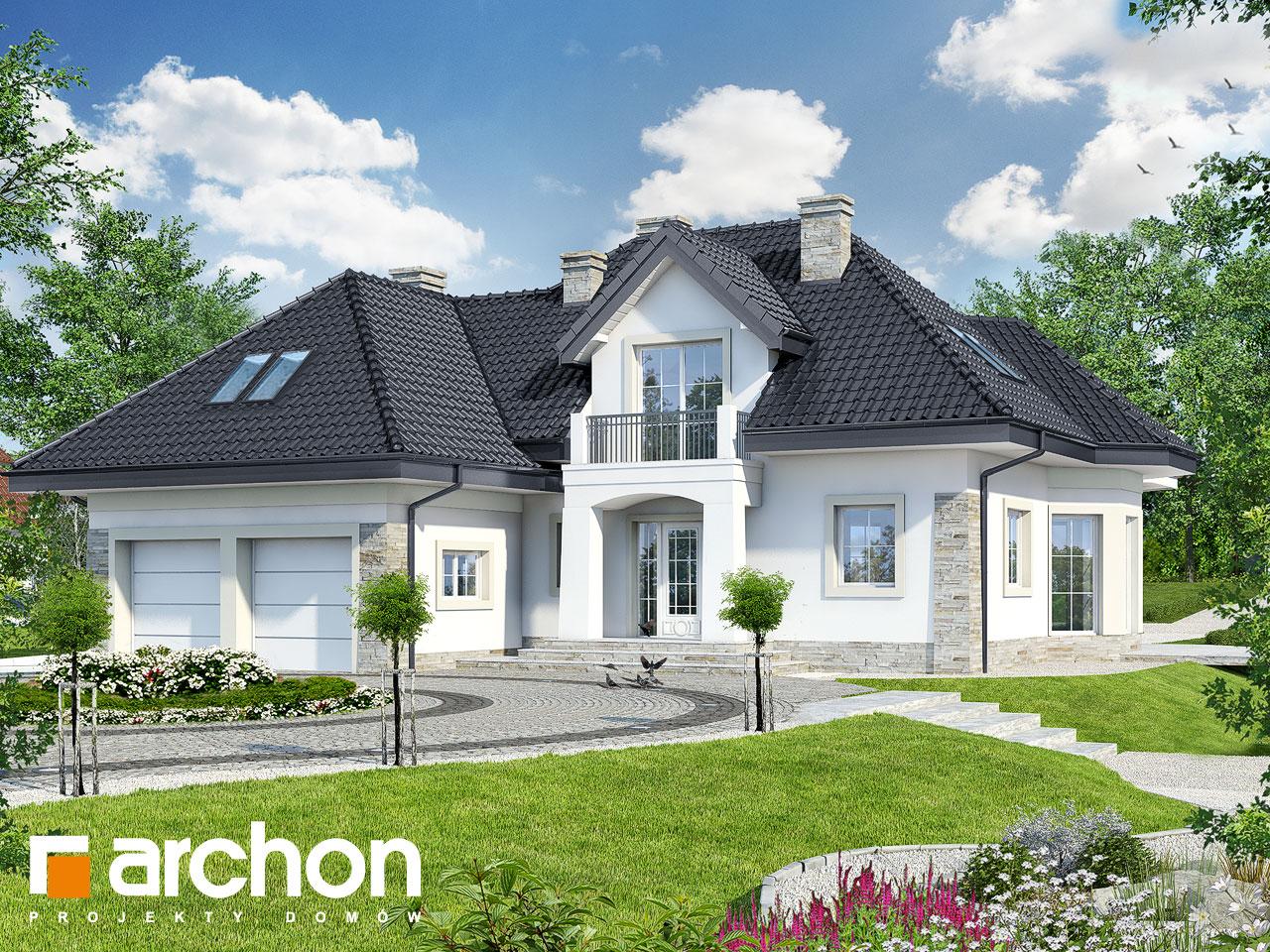 Проект будинку ARCHON+ Будинок в гібіскусі ver.2 Вид 2
